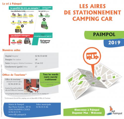 Stationnement camping-car Paimpol
